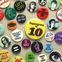 Cover of the track Supergrass Is 10. The Best of 94-04