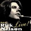 Couverture de l'album Best of Rick Nelson Live!