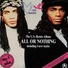 Couverture de l'album All Or Nothing US Remix Album