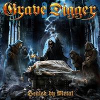 Couverture du titre Healed By Metal