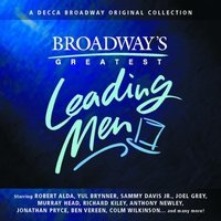 Cover of the track Broadway's Greatest Leading Men (2000 Compilation)