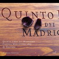 Cover of the track Monteverdi: Quinto Libro dei Madrigali