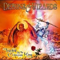 Couverture du titre Touched by the Crimson King