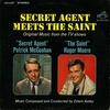 """Cover of the album Secret Agent Meets the Saint (Original Music from the TV Shows """"Secret Agent"""" / """"Secret Saint"""""""