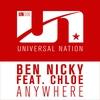 Couverture de l'album Anywhere (feat. Chloe) - Single