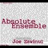 Couverture de l'album Absolute Zawinul
