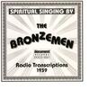 Cover of the album The Bronzemen - Radio Transcriptions (1939)