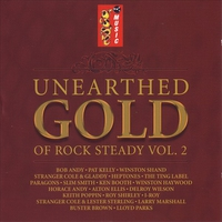 Cover of the track Unearthed Gold of Rocksteady, Vol. 2