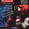 Cover of the album 16 Years of Prescription: Dubplates and Poetry, Volume 1