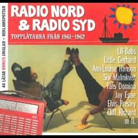 Cover of the track Radio Nord & Radio Syd Topplåtarna från (1961-1962)