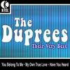 Couverture de l'album The Duprees: Their Very Best - EP