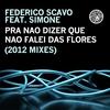 Couverture de l'album Pra Não Dizer Que Não Falei das Flores (2012 Mixes) [Remixes] [feat. Simone]