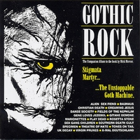 Cover of the track Gothic Rock (Collection)