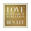 Couverture de l'album Love Is the Great Rebellion