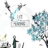Cover of the album Life Living