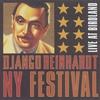 Couverture de l'album Django Reinhardt NY Festival: Live at Birdland