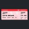 Couverture de l'album Let's Escape - Single