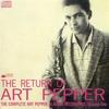 Couverture de l'album The Return of Art Pepper: The Complete Aladdin, Volume 1