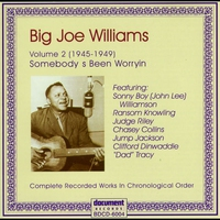 Cover of the track Big Joe Williams Vol. 1 1935 - 1941