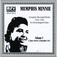 Couverture du titre Memphis Minnie Vol. 5 (1940-1941)
