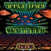 Cover of the track Space Tribe Continuum, Vol. 2