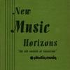Couverture de l'album New Music Horizons, Volume 1