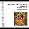 Couverture de l'album Medieval English Music (Masters of the 14th & 15th Centuries)