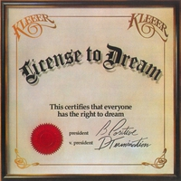 Cover of the track License To Dream
