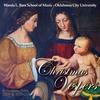 Couverture de l'album Christmas Vespers Selections from 2009 & 2010