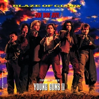 """Cover of the track Blaze of Glory (Inspired by the Film """"Young Guns II"""")"""