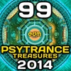 Cover of the album Psy Trance Treasures 2014 - 99 Best of Top Full-on, Progressive & Psychedelic Goa Hits