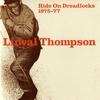 Couverture de l'album Ride on Dreadlocks: 1975-77