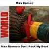 Couverture de l'album Max Romeo's Don't Rock My Boat