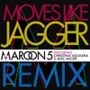 Couverture de l'album Moves Like Jagger (feat. Christina Aguilera & Mac Miller) [Remix] - Single