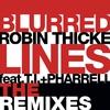Couverture de l'album Blurred Lines (The Remixes) [feat. T.I. & Pharrell Williams] - Single