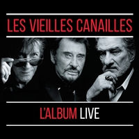 Cover of the track Les Vieilles Canailles : Le Live