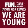 Couverture de l'album We Are Young (feat. Janelle Monáe) [Alvin Risk Remix] - Single