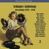 Cover of the album The German Song / Schlager Anthology / Recordings 1938 - 1940, Vol. 2