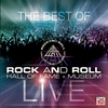 Cover of the album The Best of Rock and Roll Hall of Fame Live