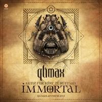 Couverture du titre Immortal (Qlimax Anthem 2013) [feat. Ruffian] - Single