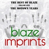 Cover of the album The Best of Blaze, Vol. 1 - The Motown Years