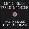 Cover of the album Lean Mean Texas Machine