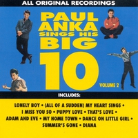 Cover of the track Paul Anka Sings His Big 10, Vol. 2