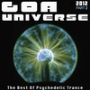 Cover of the album Goa Universe 2012, Pt. 2 - The Best of Psychedelic Trance