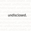 Couverture de l'album Undisclosed