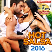 Cover of the track Hot Salsa 2016 (21 Salsa Latin Hits) [Salsa Romántica, Urbana, para Bailar]